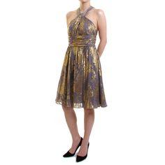 ホルタードレス #Party #Wedding #Dress #Gold