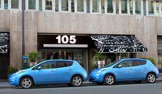 La Nissan Leaf vous emmène à la Cantine du Faubourg !
