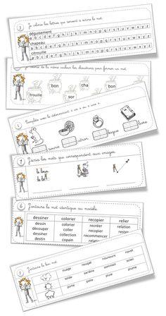 Rituels lecture CP :11 fiches - Bout de gomme