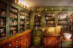 Pharmacy - Room - The Dispensary Photograph  - Pharmacy - Room - The Dispensary Fine Art Print