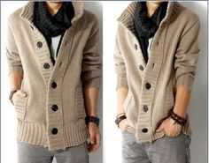 Cardigan Slim Sweater