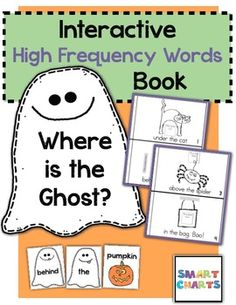 Where is the Ghost? {Interactive High-Frequency Words Book} $1.25
