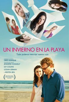 Un invierno en la playa el póster oficial de la película :)