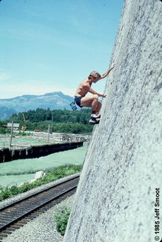 peter croft on clean crack in 1985 #consumeadventure