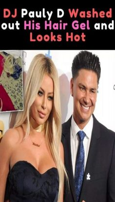 From time to time, Pauly D will switch up his hair style, but his latest look has got the whole internet talking for all the right reasons. Weird Facts, Fun Facts, Pauly D, Viral Trend, Halloween Drinks, Hair Gel, Weird World, Funny Photos, Cute Couples