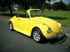 Volkswagen Beetle  Convertible Yellow