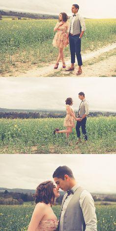 50 Days of Summer inspired photo shoot - image (c) Modern Vintage Weddings. #500daysofsummer #loveshoot #zooeydeschanel