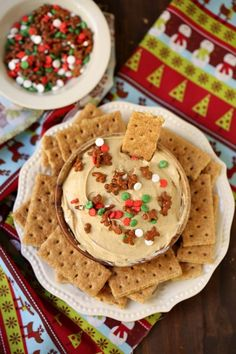 Gingerbread Cheesecake Dip is always a party favorite for the holidays. Make it for your next holiday get together and I guarantee you'll be the most popular person in the room! Make Ahead Christmas Appetizers, Christmas Deserts, Christmas Party Food, Holiday Desserts, Holiday Baking, Christmas Treats, Holiday Recipes, Christmas Recipes, Christmas Sprinkles