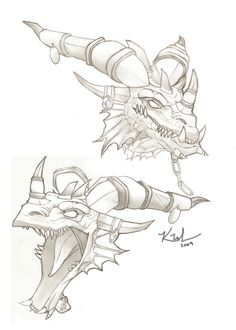 World of Warcraft Dragon Drawings Here are some of the best World of Warcraft Artwork I could find online.