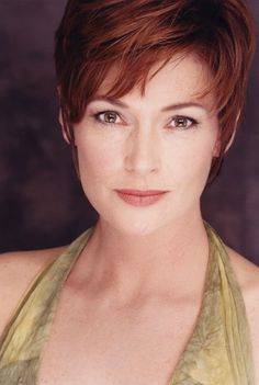 Carolyn Hennesy ~ Her hairstyle is too short for me, but always looks so fresh and sophisticated on her.