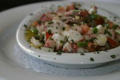 Octopus salad - Portuguese recipe