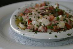 Octopus salad - Portuguese recipe