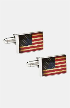 Ravi Ratan 'USA Flag' Cuff Links | Nordstrom