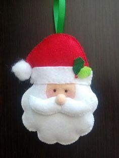 Diy christmas ornaments 426082814746464608 - 39 Brilliant Ideas How To Use Felt Ornaments For Christmas Tree Decoration 23 Source by doublehip Felt Christmas Decorations, Christmas Ornaments To Make, Christmas Sewing, Noel Christmas, Felt Ornaments, Handmade Christmas, Ornaments Ideas, Christmas Felt Crafts, Diy Xmas
