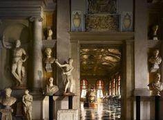 biblioteca Marciana di Venezia del 500 uno degli ambienti più belli di Venezia!!
