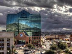 The beautiful Downtown El Paso, TX!