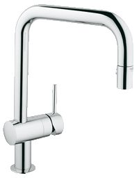 Minta Single-lever kitchen faucet   GROHE SilkMove ceramic Cartridge 32319 000 - Kitchen Faucet