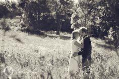 Wedding kiss at Ohariu farm meadow.  #Wedding #photographers, #Wellington, New Zealand. http://www.paulmichaels.co.nz/