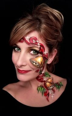 Christmas Face Painting Competition 2015 - WINNERS ANNOUNCED