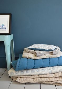 Camomile london :: Beautiful Bedding in the most amazing soft colours.