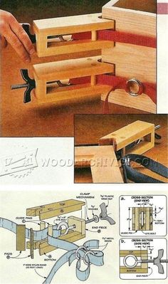 DIY Band Clamp - Clamp and Clamping Tips, Jigs and Fixtures | WoodArchivist.com