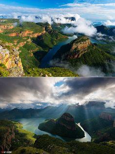 КАНЬОН BIyde River,  ЮЖНАЯ АФРИКА.  #africa #beautiful #Природа #Красота #Пейзаж .