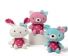 Gund Polka Dot Animals ~ 3 Pack GUND http://www.amazon.com/dp/B01DJC80SO/ref=cm_sw_r_pi_dp_G66axb1169HZR