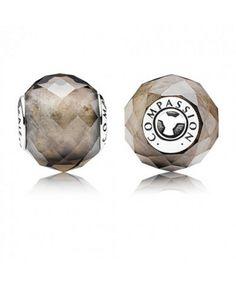 477bde9d8 Pandora Essence silver and Smoky Quartz Charms Compassion Cyber Monday For  Sale Cheap