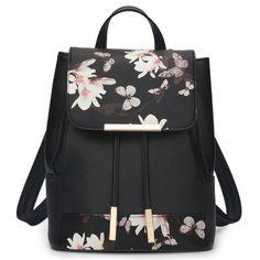 WINK KANGAROO Fashion Shoulder Bag Rucksack PU Leather Women Girls Ladies…