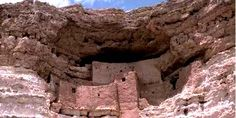 in the Gila and Salt river valley in arizona the aztecs are thought to have created these ancient dwellings
