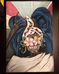 Celia Cruz Dia De Los Muertos Tribute. #diadelosmuertos #dayofthedead #blackpaperart