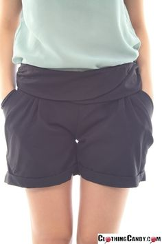 cute black shorts from @ClothingCandy.com