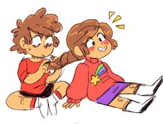 AWW!! This is so flipping Adorable!!! Dipper and Mabel