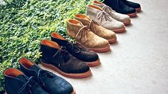 The shoe that gets lost the most in the rotation and probably the most underrated. Desert boot.