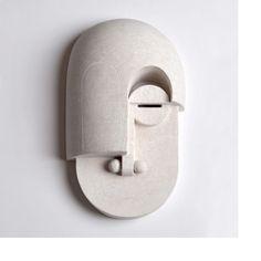 Ceramic Masks by Eric Roinestad @erstudio #yatzer_inspiration