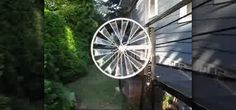In this video, you'll learn how to make your very own bicycle wheel windmill. This completely recyclable creation which can easily be made from that old bike that's just been rusty away. Put it to good use and make this great eco-friendly windmill. Step by step you'll learn exactly what to do to make this windmill spin.