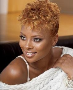 short natural african american hair - Google Search