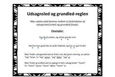 Kommaregler - plakater til ophæng - Bubbleminds Study, English, School, Inspiration, Danish Language, Grammar, Trier, Deutsch, Biblical Inspiration