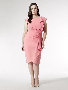 Dresses from the new Marina Rinaldi Collection have a glowing endorsement: Ashley Graham. Discover styles for Spring/Summer discover Curvy Styles Cheap Formal Dresses, Wedding Dresses For Sale, Stylish Dresses, Elegant Dresses, Nice Dresses, Fashion Dresses, Plus Sise, Asos Curve Dresses, Plus Size Inspiration
