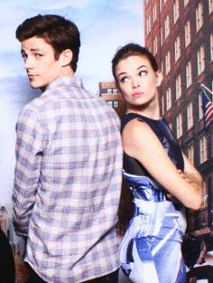 Grant Gustin and Danielle Panabaker - Google Search