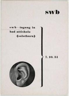 Max Bill, Schweizerischer Werkbund, 1934:
