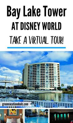 Have you ever stayed at Bay Lake Tower, the hotel next to the Contemporary Resort at Disney World? Find out what it's like with this virtual tour! In the video, you'll get to see inside a room (a studio villa), the views from the room, fun recreational activities & even Disney's nightly Electrical Water Pageant. It will give you a great feel for the resort & if it's right for you & your family on your next Orlando Florida vacation. #WaltDisneyWorld Disney Vacation Club, Walt Disney World Vacations, Disney Resorts, Florida Vacation, Dream Vacations, Orlando Resorts, Orlando Florida, Disney World With Toddlers, Bay Lake Tower