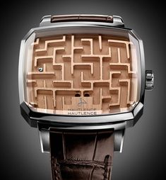 Hautlence Playground Labyrinth \'Watch\' Is Nothing But A Fancy Ball Maze Game | aBlogtoWatch