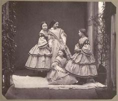 Quatre princesses d'Angleterre et d'Orléans, 1859