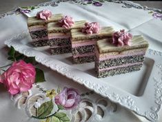 Diy Food, Vanilla Cake, Decorative Boxes, Food And Drink, Sweets, Tableware, Ethnic Recipes, Poppy, Pies