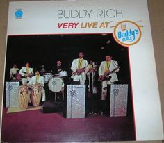 """Buddy Rich """"Very Live at Buddy's Place"""" EX 1974 Vinyl Record"""