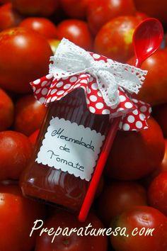 Mermelada de tomate i bocaditos de mozzarella