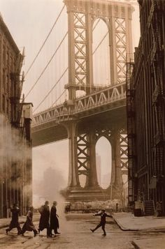Once Upon a Time in America  - key art from the film. I love this scene! My grandfather grew up on the Lower East Side during the time period portrayed in this film and was familiar with the gangs and people depicted.