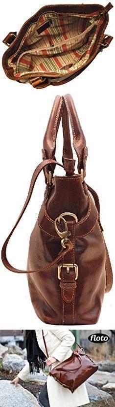 Floto Handbags. Floto Brown Taormina Bag in Italian Calfskin Leather - handbag, shoulder bag, hobo.  #floto #handbags #flotohandbags