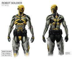 Robot Soldier by Rolf Bertz